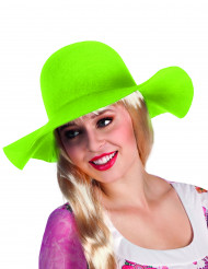Neon grüner Hut