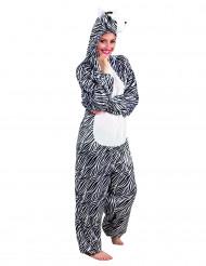 Zebra-Kostüm für Erwachsene