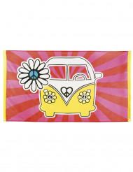 Hippie Banner - VW-Bus