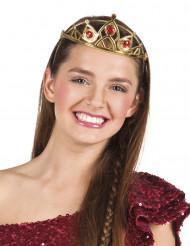 Prinzessin Krone für Erwachsene - golden