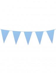 Wimpel-Girlande groß - himmelblau