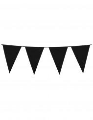 Wimpel-Girlande - schwarz