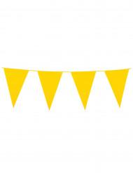 Wimpel-Girlande - gelb