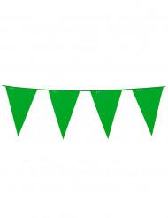 Wimpel-Girlande - grün