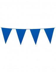 Wimpel-Girlande - blau