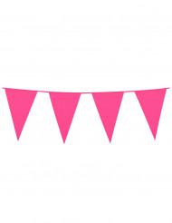 Wimpelgirlande - Pink
