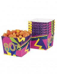 6 Bonbon-Becher 80er
