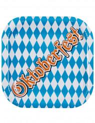 6 Pappteller Oktoberfest
