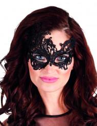 Schwarze Augenmaske - Arabesken