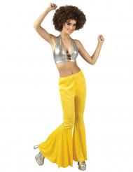 Gelbe Disco Hose