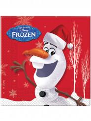 20 Olaf™ Weihnachts Servietten - Die Eiskönigin™