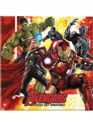 20 Avengers™ Papier Servietten - Age of Ultron