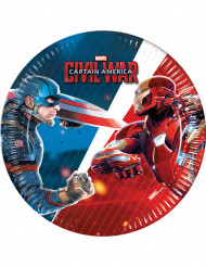 8 kleine Captain America™ Teller