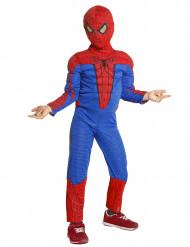 Spiderman™-Lizenz-Kostüm für Kinder blau-rot-schwarz