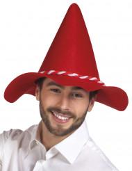 Roter Tirolerhut für Erwachsene