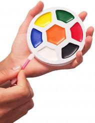 Große Make-up Palette Fußball 7 Farben