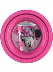 Geschirr-Set aus Plastik - Minnie™