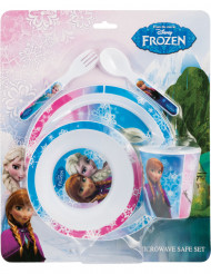 Geschirr-Set aus Plastik - Eiskönigin™