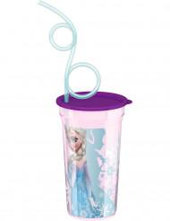 Becher mit Trinkhalm Elsa Frozen™