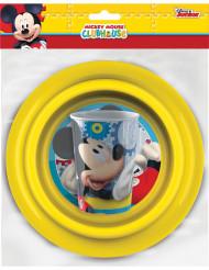 Geschirr-Set aus Plastik - Mickey™