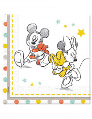 20 Papierservietten Baby Shower Disney Baby™