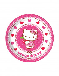 8 kleine Pappteller - Hello Kitty™