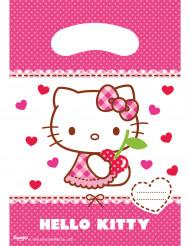 6 Geschenktüten Hello Kitty™