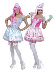 Cupcake Paarkostüme für Frauen