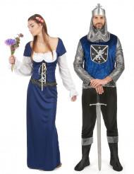 Mittelalter Kostüm und Bayerisches Dirndl Kostüm