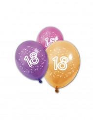8 Luftballons - 18 Jahre