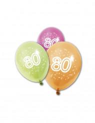 8 Luftballons 80. Geburtstag