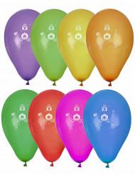 8 Prinzessinnen Luftballons
