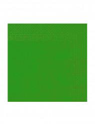 50 grüne Papier Servietten