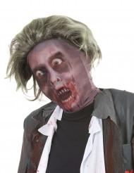 Zombie Strumpfmaske mit Perücke für Erwachsene - Halloween