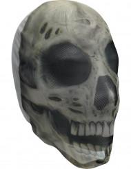 Strumpfmaske Skelett für Halloween