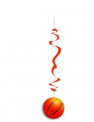 Basketball Hänge-Deko aus unentflammbarem Papier