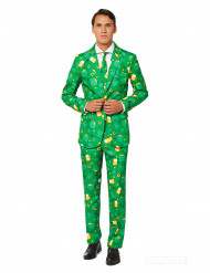 Kleeblatt Anzug Suitmeister™ für Herren grün