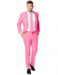 Mr. Pink langer Herrenanzug von Opposuits™ rosa