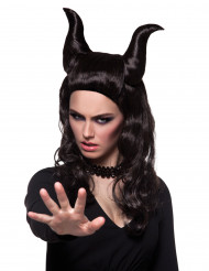 Dämon Perücke Halloween für Damen