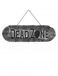 Halloween-Türschild Dead Zone, 15 x 45 cm