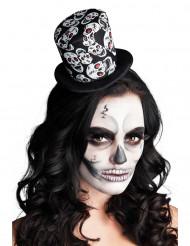 Mini-Hut mit Skelett-Muster für Damen