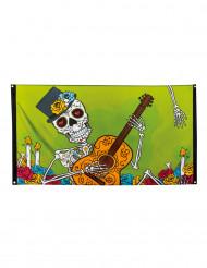 Banner Dia de los muertos, 90 x 150 cm