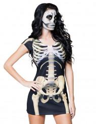 Sexy Skelettkostüm für Damen