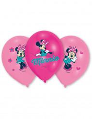 6 Minnie Maus™ Ballons