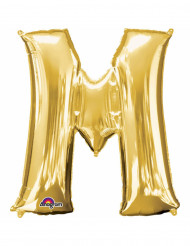 Folienballon M gold 33 cm