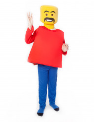 Mr Block Kopf Morphsuits™ Kostüm für Kinder
