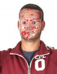 Halloween transparente Mörder Maske