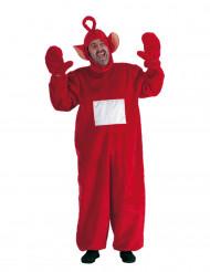 Rotes TV-Baby Kostüm