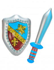 Aufblasbares Ritter-Set