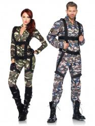 Militär-Paarkostüm